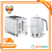 Russell Hobbs Inspire 1.7 L Electric Jug Kettle & 2 Slice Toaster Set - White