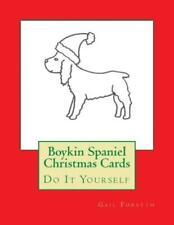 Boykin Spaniel Christmas Cards: Do It Yourself