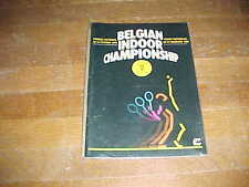 1990 Belgian Indoor Championship Tennis Program