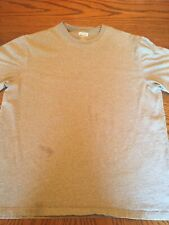 Men's Large Duluth Trading Company Longtail T-shirt L Large Gray Tee 100% Cotton