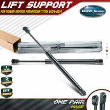 2x Hood Front Lift Supports Struts Arm for Nissan Armada Titan 2004-2014 4182