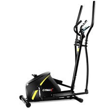Gymax Magnetic Elliptical Machine Trainer Smooth Quiet Driven Home Gym Exercise