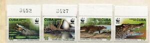 FAUNA_1103 2003 WWF reptiles animals 5 pc MNH Combined payments & shipping