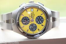 Seiko Wired Chronograph V657 WRIST WATCH YELLOW DIAL