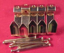 PICTURE/PHOTO FRAME HANGERS Large Mirror Hooks Nails Fixing Pack of 5