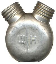 Original Soviet Army Military Metal Double Rifle Oil Can Bottle Holder, USSR