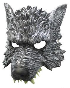 Realistic Soft Foam Were Wolf Lykaon Mask Halloween Cosplay Costume Accesorry