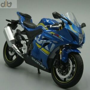 New 1:12 Diecast Motorcycle Model Toy F-Suzuki GSX-R1000 Sport Bike