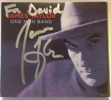 James Taylor - One Man Band - AUTOGRAPHED - DVD and CD Set 2007