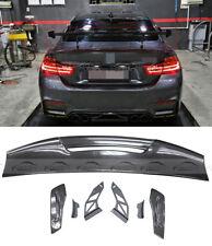 Universal Sedan Carbon Fiber MAD Rear GT Trunk Spoiler Wing Adjustable Deck