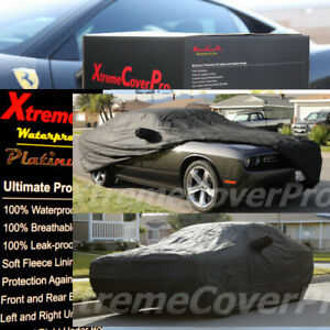 Custom fit 2008 2009 2010 2011 2012 Dodge Challenger Waterproof Car Cover black
