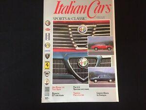 Italian Cars Magazine 1992 No 10 - Alfa Fiat Lancia Ferrari Lamborghini Pinin...
