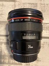 Canon Lens EF 24mm USM 1.4L