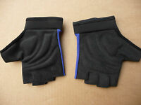 Cycling Mitts Finger-less Bicycle Gloves Mens & Ladies NEW Road MTB Blue Red