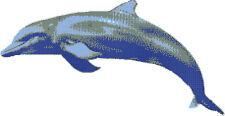 Glasmosaik Bild Delfin Delphin Fisch BODEN Wand BAD POOLBILD SCHWIMMBADBILD