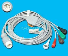 1pc NEW One-piece 12pin 5Lead Cable Button For PHILIPS monitor PM20 PM30 PM40