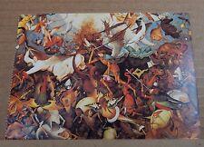 "Postcard Art Pieter Bruegel "" The Fall Of The Rebel Angels 1562"" unposted"