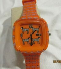 Flex Silicone Watch Orange DALMATIONS Limited Edition LOT F150