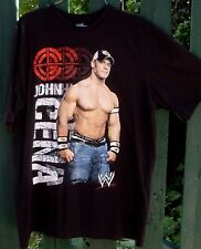 WWE John Cena LIVE FAST FIGHT HARD (M) Men's Cotton T-shirt MAN CAVE Collectable
