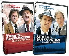 THE STREETS OF SAN FRANCISCO - COMPLETE SEASON 4 -   DVD - REGION 1  sealed