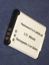 Batteria 980mAh tipo D-LI88 DB-L80 PX1686E Per Sanyo Xacti VPC-CG10EXP-B