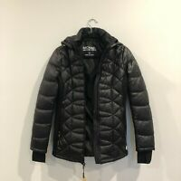 NWT Michael Kors Women's Hooded Black Winter Puffer Jacket XS X-Small
