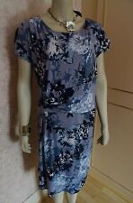 TOGETHER MULTI BLUE CLASSIC DRESS SIZE 22  RRP £70 CLEARANCE