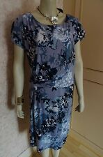 TOGETHER MULTI BLUE CLASSIC DRESS SIZE 18 & 22 RRP £70 CLEARANCE