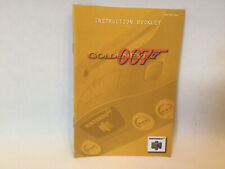 Goldeneye 007 Instruction Booklet Nintendo 64 Manual B2G1