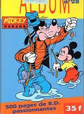 Mickey Parade album 28 (n° 173, 175 et 176)