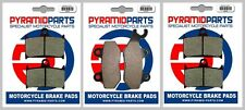 Front & Rear Brake Pads for Triumph Sprint 955i ST 99-04 1050 ST 05-10 RS 03-04
