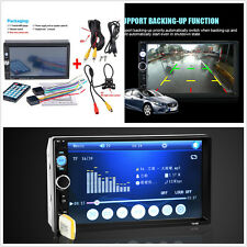 7'' Car Auto Radio Bluetooth Stereo HD Screen MP5 Player MP3/MP4 Handsfree Call