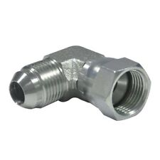 "6500-08-08 Steel Tube Fitting 90 Degree Elbow 1/2"" M JIC x 1/2"" F JIC Swivel"