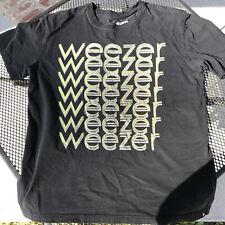 Vintage Weezer Black T Shirt Hurley Size Medium (M) Band Tee Retro