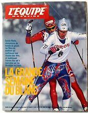 L'Equipe Magazine 13/02/1993; Carole Merle/ Anne Briand/ Arthur Ashe/ Braillon M