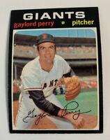 1971 Gaylord Perry # 140 San Francisco Giants SF Topps Baseball Card HOF