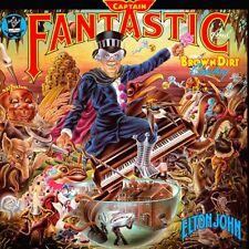 Elton John-Captain Fantastic & The Brown Dirt Vinyl LP Cover Sticker or Magnet