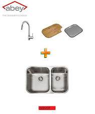 BRAND NEW ABEY NU QUEEN 180U UNDERMOUNT SINK PACKAGE  WITH Pull out MIXER