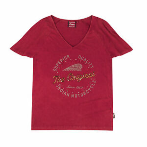 Indian Motorcycle Genuine Apparel - Womens Sequins and Studs Tee - 2867956XX