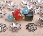 50pcs 16mm Tibetan Silver Bead Caps Charms Flower Spacer Beads Jewelry Findings