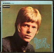 David Bowie S/T USA 1967 First Pressing Stereo 12 Track Deram LP NM-/NM-