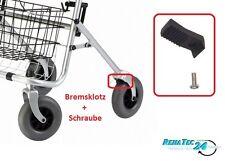 Druckbremse Bremsklotz Ergobremse Aktiv Bremse Reifenbremse Rollator Universal