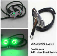 New Dual Button Motorcycle Handlebar Self-return Reset Switch for Horn Engine