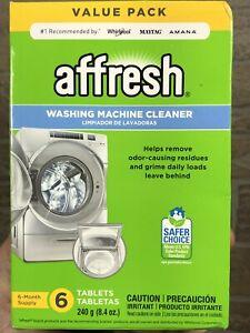 Affresh Washing Machine Cleaner, 6 Tablets: Cleans Front Top Washer (Broken)