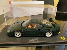Ferrari F40 Verde Abetone 1/18 Bbr Display Very Rare