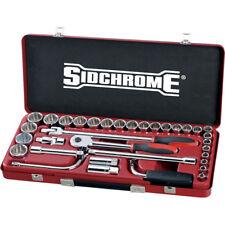 "Sidchrome 33pce Socket Set 1/2"" Metric - SCMT14210"