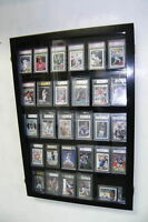 30 Graded Baseball Card display Case PSA beckett  DEEP