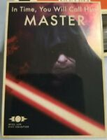 2015 TOPPS STAR WARS CHROME PERSPECTIVES JEDI TRAINING PROPAGANDA #3 MASTER CARD