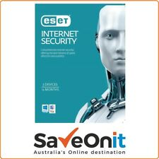 Eset Internet Security 3 PC 1 year License key 2018