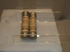 (LOT OF 2) CLASS K-5 SHAWMUT 60A ONE TIME FUSES